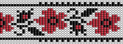 узор схема плетения