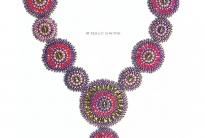 Ожерелье из круглых частей