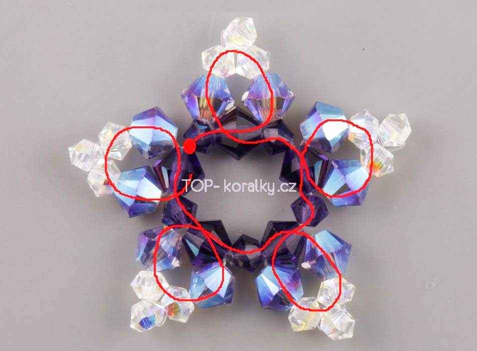 Сережки из кристаллов своими руками