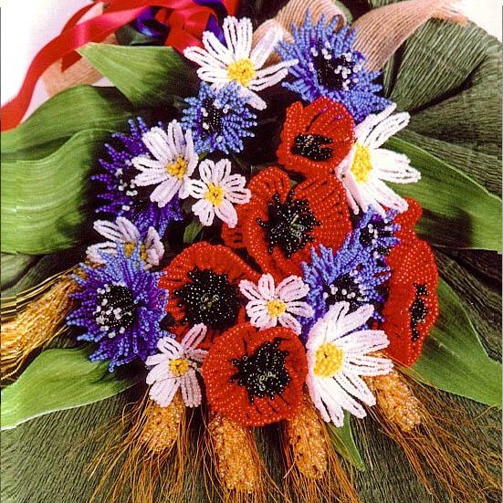 Букет бегемот из цветов — 6