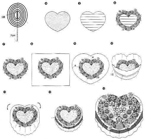как сделать и собрать сердце