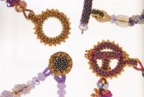 плетем застежки и замочки из бисера