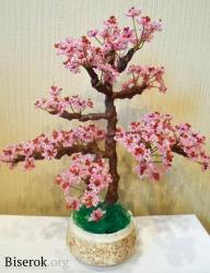 бисерная сакура