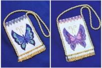 Сумочка с бабочкой