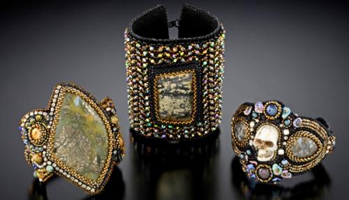 красивые браслеты в бисере
