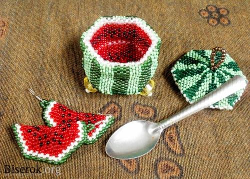 Брелок ягодки своими руками