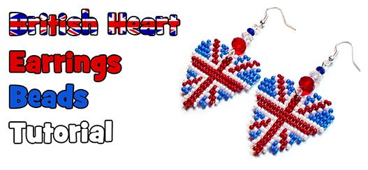 сердца с британский флагом