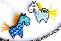 пегас и конь из бисера