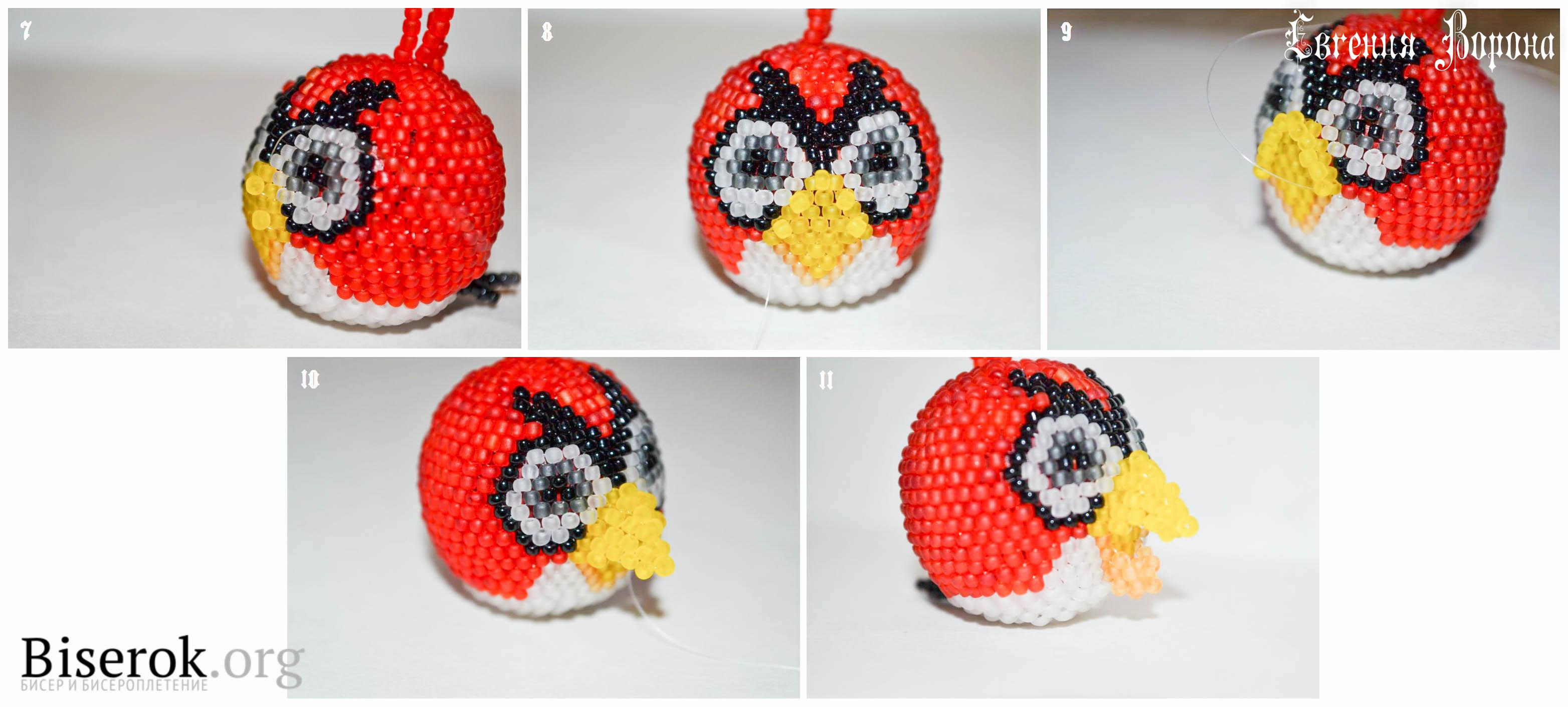 angry birds схемы вязания крючком