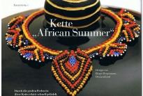 Колье «Африканское лето»