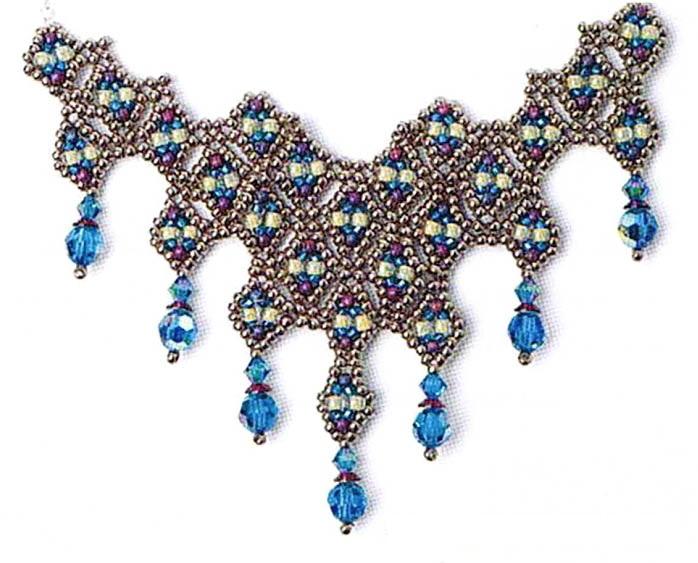 Бисер ожерелья своими руками