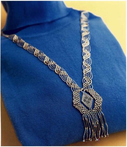 ожерелье из бисера схема плетения