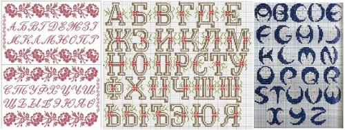шрифты для фенечек из бисера и ниток, схема, алфавит бисер бусины