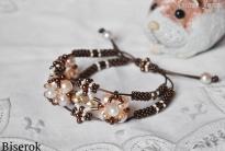 Плетеный браслет на шнуре