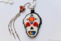 Брелок для сумки «Skull for peace»