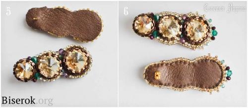 длинные серьги вышивка бисером, оплетение кристаллов риволи рубкой, русский и американский способ обшивки края, оформление края вышитых бисером украшений