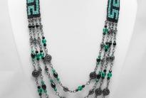 Ожерелье из бисера и бусин «Венеция»