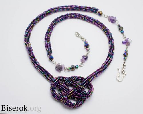 фиолетовый шнур