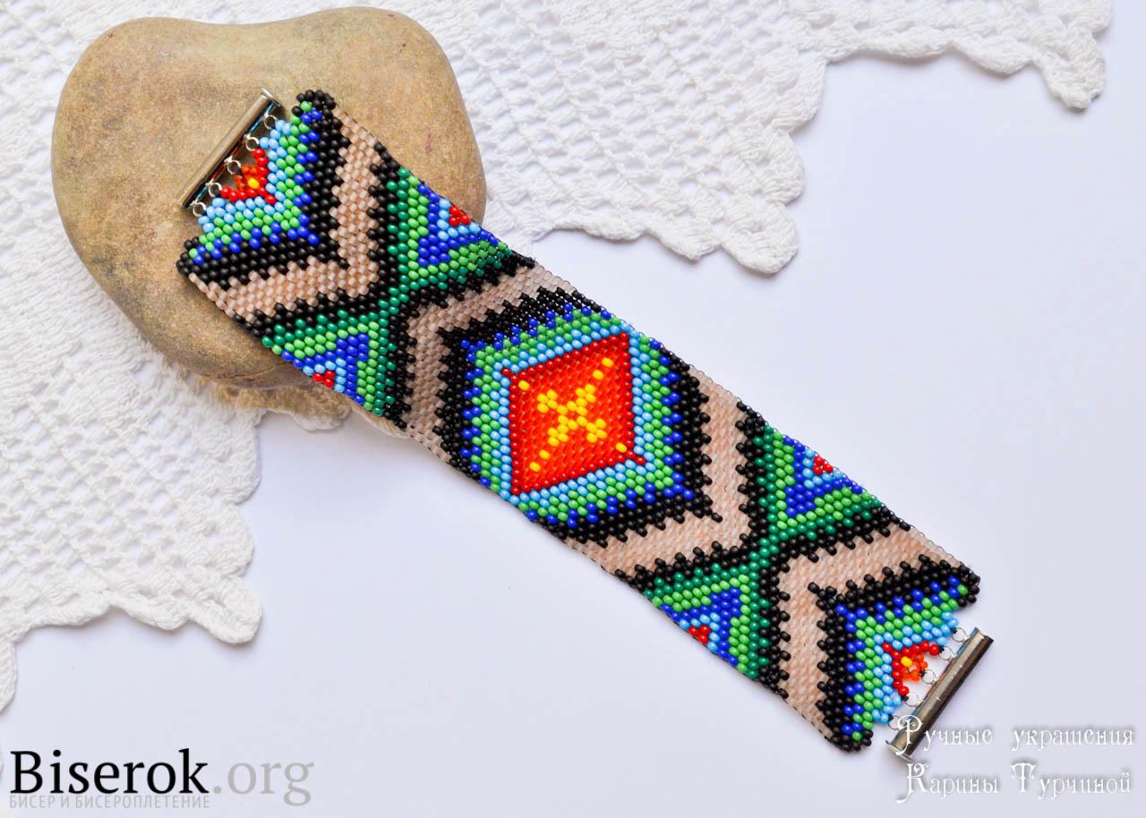 браслет талисман Kaila браслеты из бисера бисерок