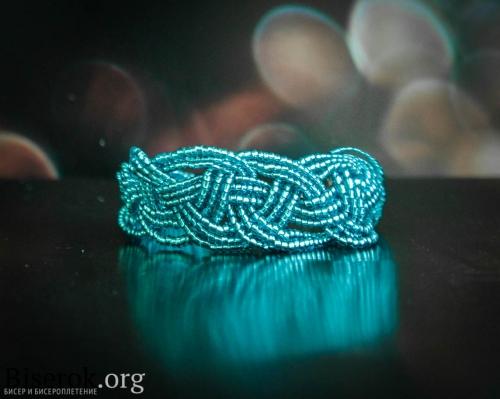 косичка браслет