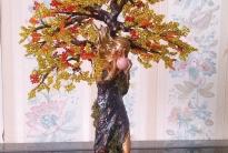 Мастер класс по созданию дриады из бисера «Осенняя печаль»