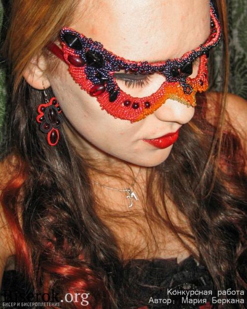 маска из бисера
