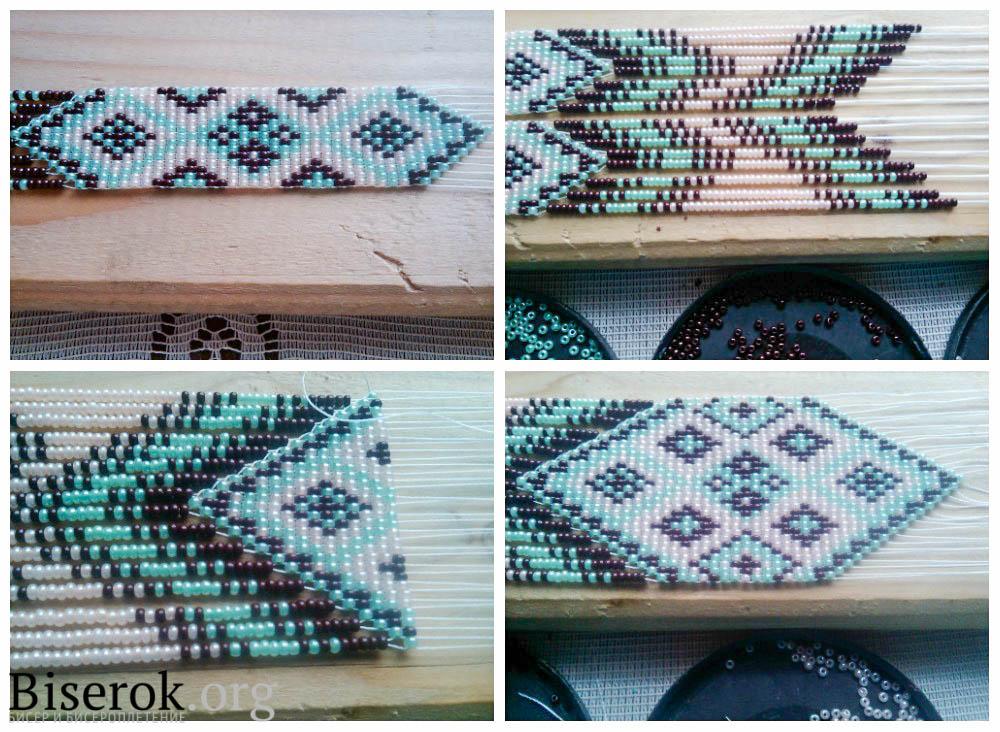 Вязание бисером гердан