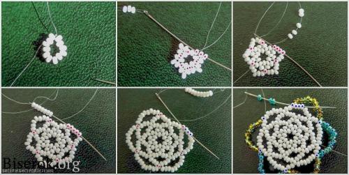 плетем серьги