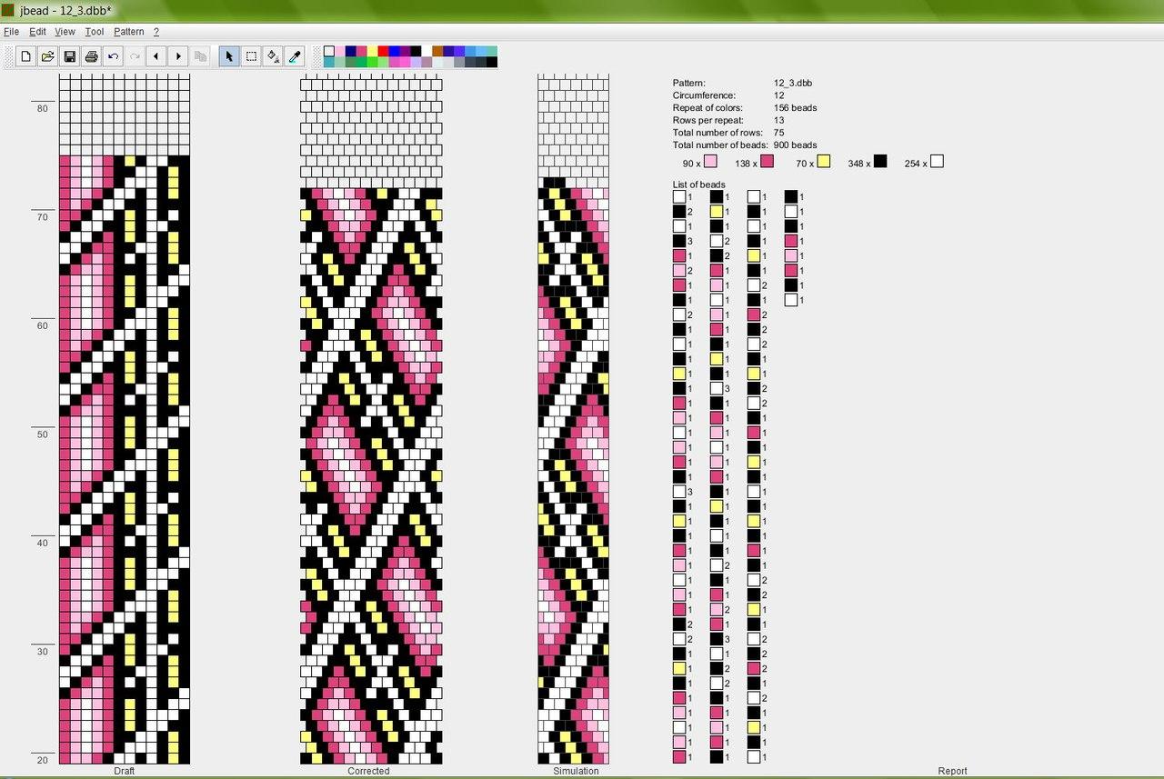 Схемы плетения жгутов из бисера крючком фото