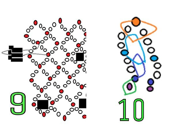 На схеме 9 показано