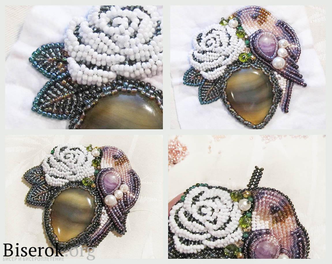 Мастер-класс по вышивке бисером украшений