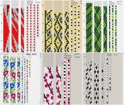 Браслеты из бисера вязание крючком схемы