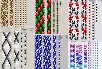 70 схем вязания крючком жгутов на 9-10 бисерин