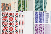 100 схем для вязания шнуров на 13-14 бисерин