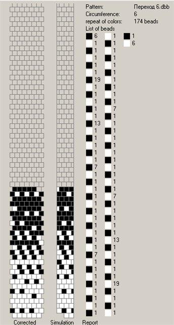 Переход цвета в вязании спицами схема 32