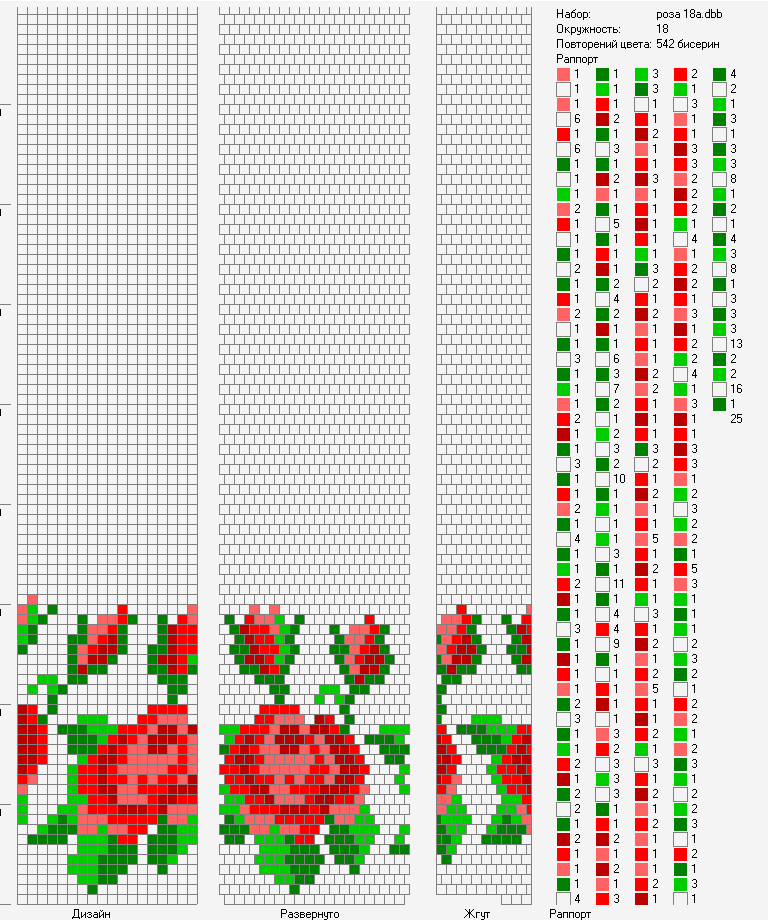 Схема вязания жгут крючком