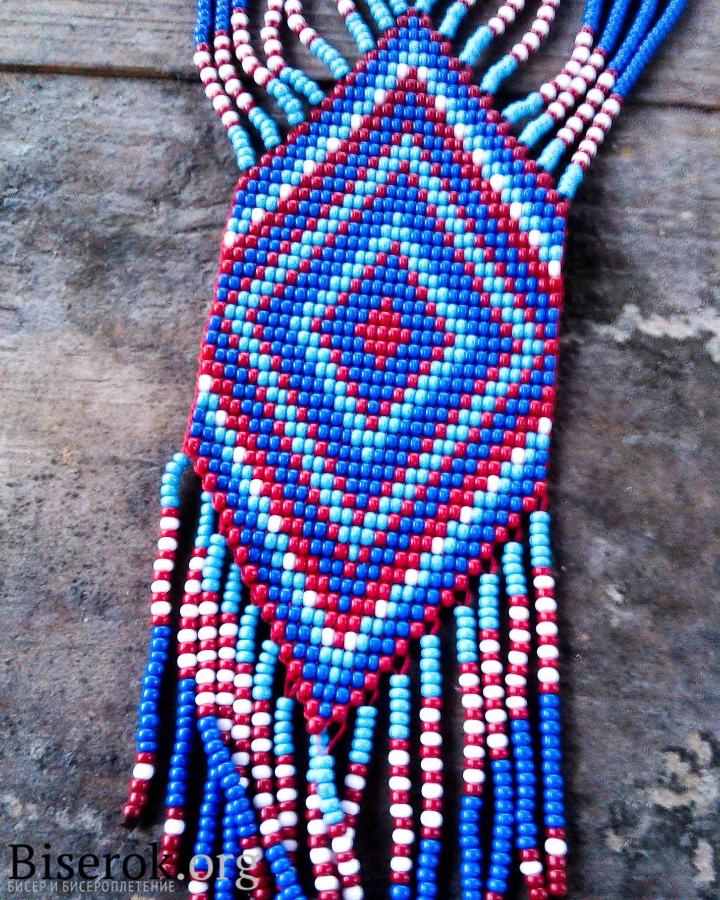 схема плетения фенечки с именем надя