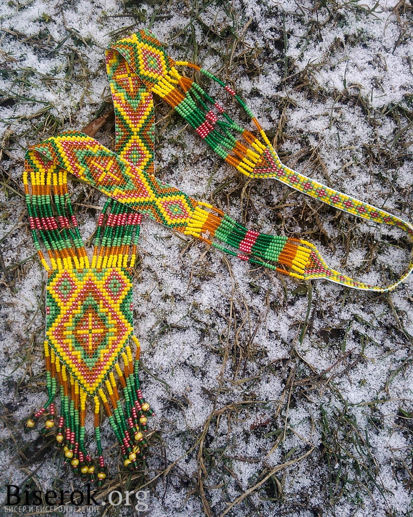 схема плетения герданов