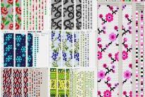 200 схем для вязания шнуров на 15-16 бисерин
