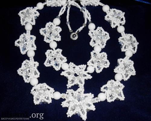 белые украшения