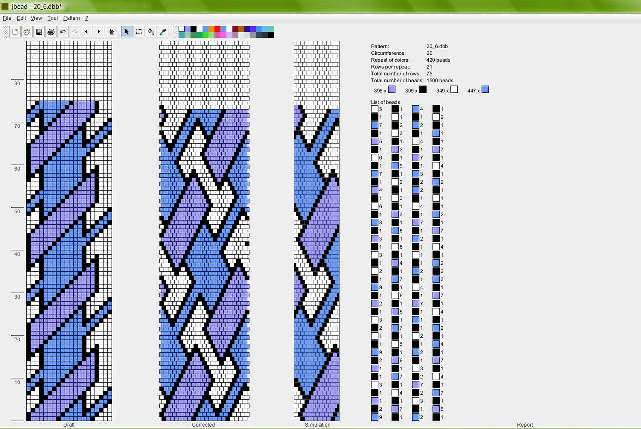 Как читать схемы вязания жгута