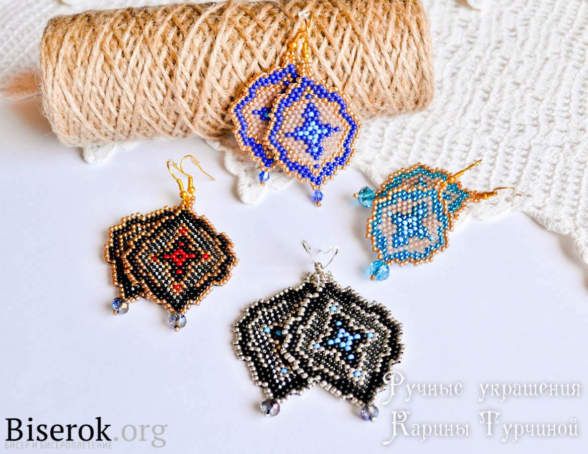 Схема для плетения короны из бисера