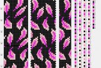 54 схемы вязания жгутов на 21-24 бисерин