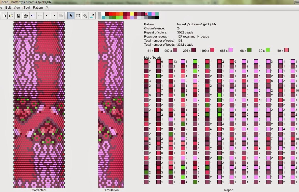 Вязание бисером схемы цветов