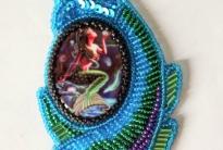 голубая рыбка