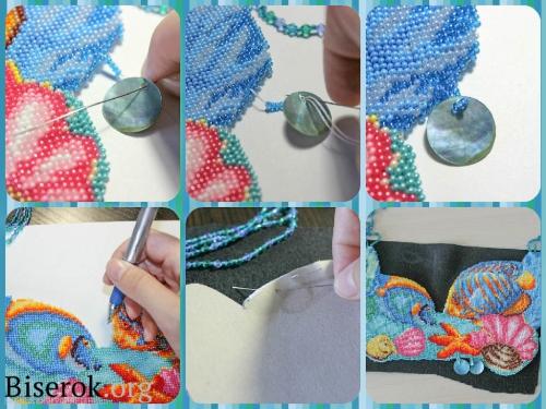 вышиваем бисером