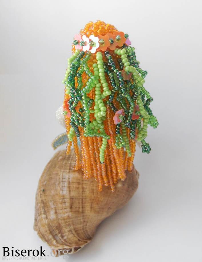 плетение русалки