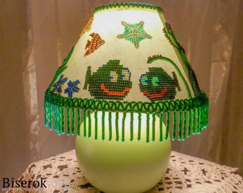 лампа в бисере
