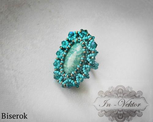 бирюзовое кольцо
