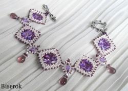 лиловый браслет